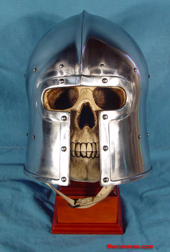 TherionArms - T-face barbute helmet