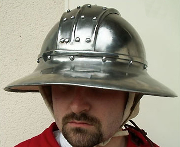 What Is Leather Made Of >> TherionArms - Reinforced kettle helm